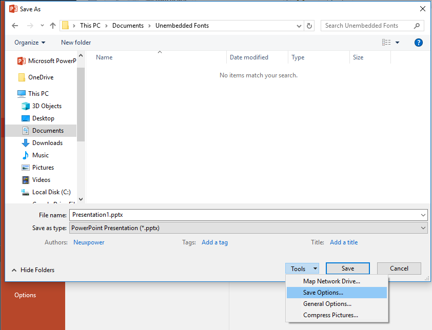 Remove or subset embedded fonts from Office Files to reduce